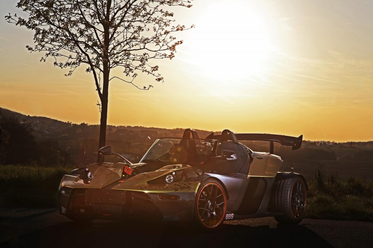 KTM X-BOW GT Dubai Gold Edition tuning/тюнинг Wimmer