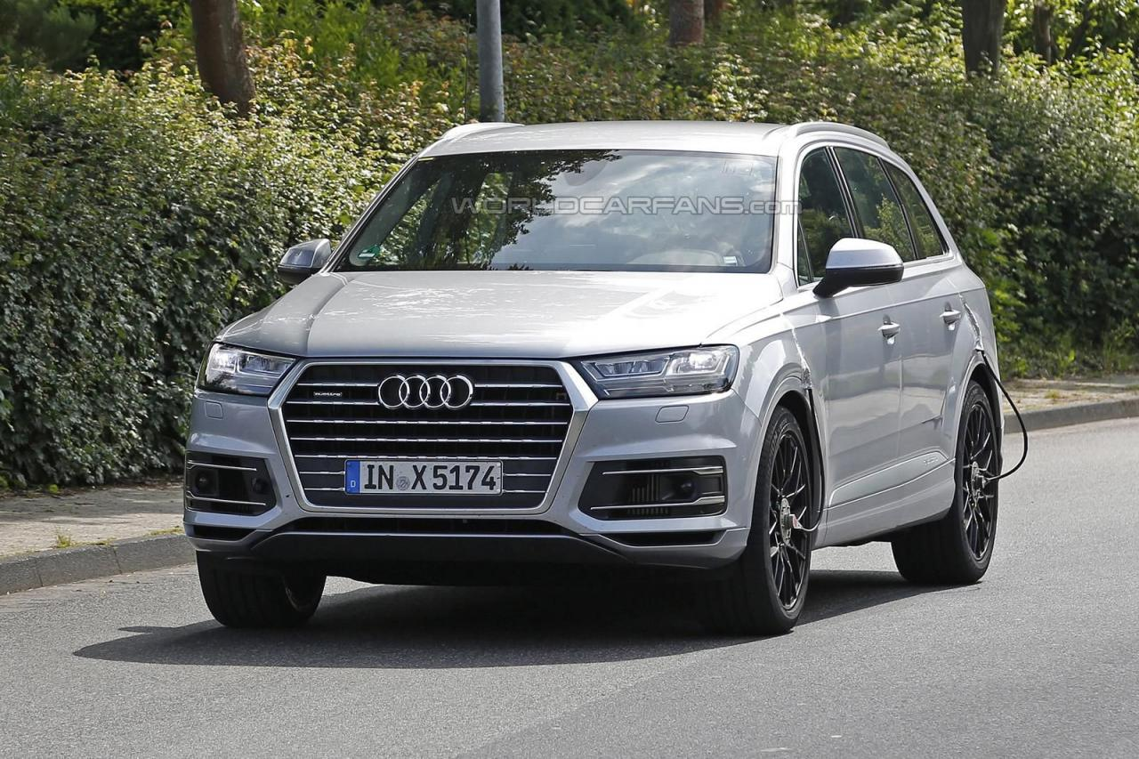 Audi SQ7 2016 spy photo/шпионское фото
