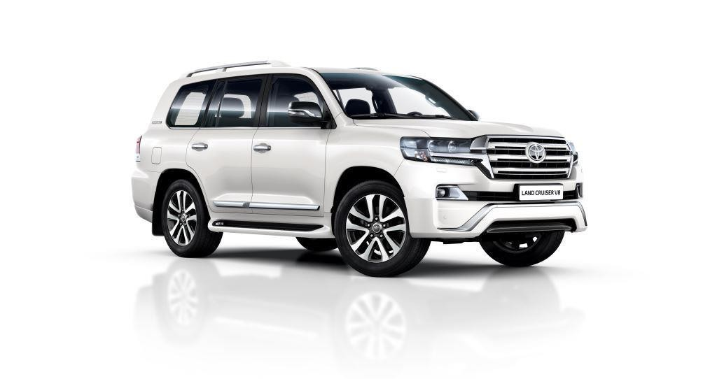 Toyota Land Cruiser 200 Executive White